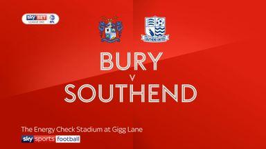 Bury 0-0 Southend