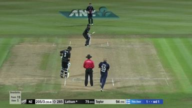 Stokes' first wicket on return