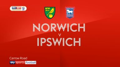 Norwich 1-1 Ipswich