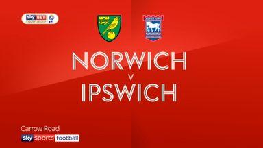 Norwich 1-1 Ipswich