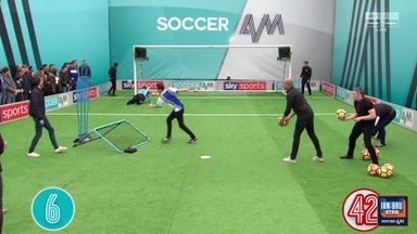 Wigan fans | Volley Challenge