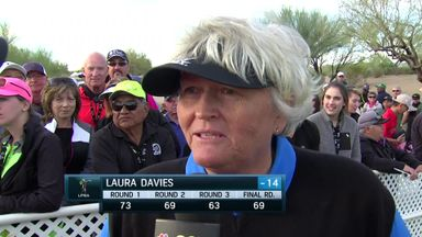Davies shares second in Arizona
