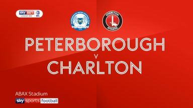 Peterborough 4-1 Charlton