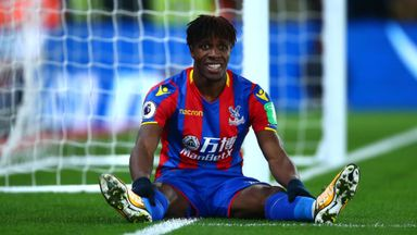 Hodgson warns of Zaha pressure