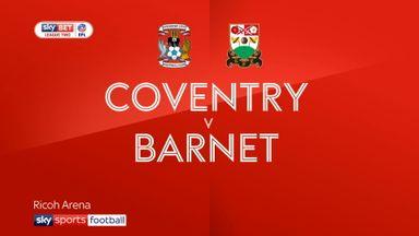 Coventry 1-0 Barnet