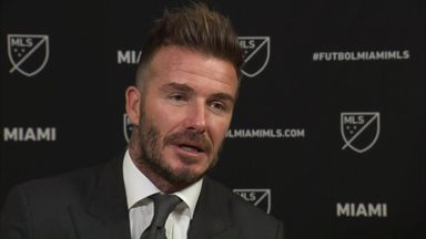 Beckham: Zlatan a big boost for MLS
