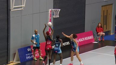 Sirens v Stars: Highlights
