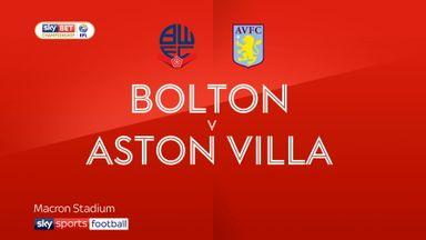 Bolton 1-0 Aston Villa