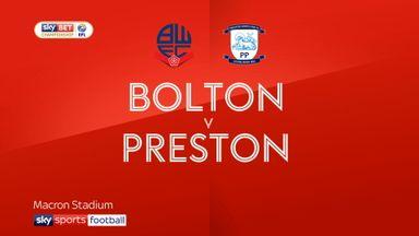 Bolton 1-3 Preston