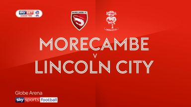 Morecambe 0-0 Lincoln