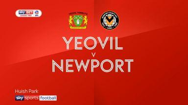 Yeovil 0-2 Newport