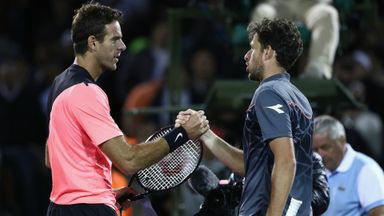 Del Potro v Haase: Highlights