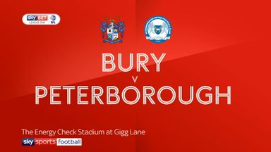 Bury 0-1 Peterborough
