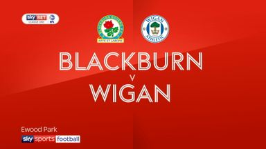 Blackburn 2-2 Wigan