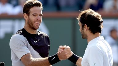 Del Potro v Federer: Highlights