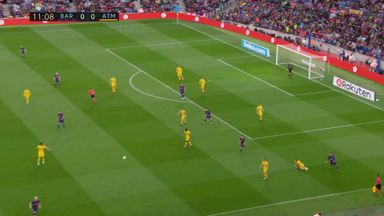 Atletico's contrasting tactics