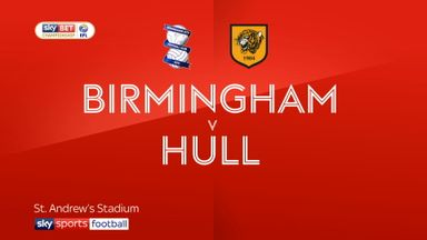Birmingham 3-0 Hull