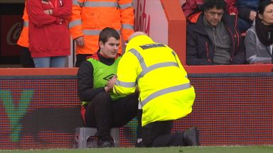 Ballboy told off, but whodunit?!