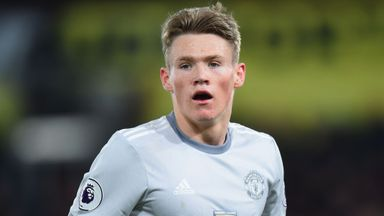 McLeish confirms McTominay call-up