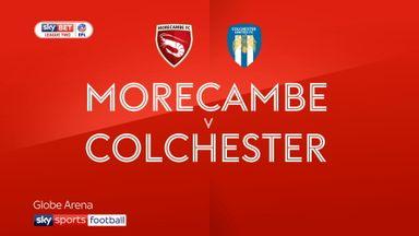 Morecambe 0-0 Colchester