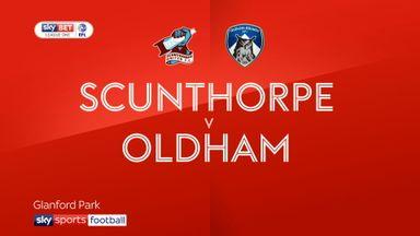 Scunthorpe 0-2 Oldham