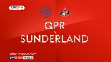 QPR 1-0 Sunderland