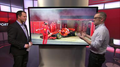 The smoking Ferrari explained