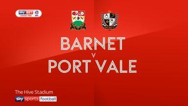 Barnet 1-1 Port Vale