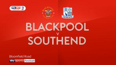 Blackpool 1-1 Southend