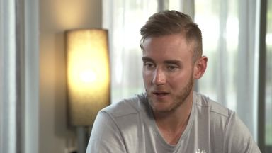 Broad ready for 'take off'