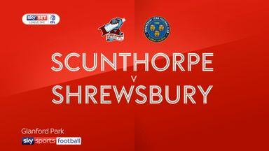 Scunthorpe 1-2 Shrewsbury