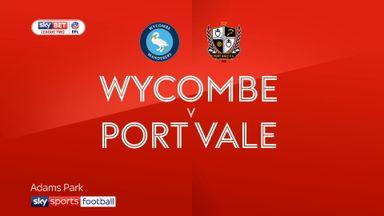 Wycombe 0-0 Port Vale