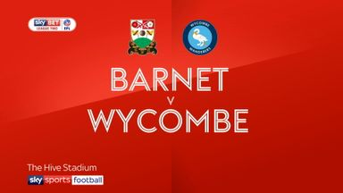 Barnet 0-2 Wycombe