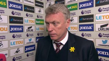 Moyes: We let the fans down