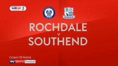 Rochdale 0-0 Southend