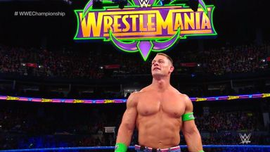 Cena humble after Styles defeat