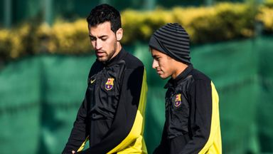 Busquets: Neymar has not contacted me