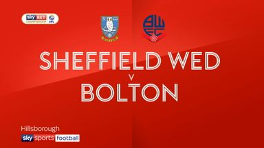 Sheffield Wednesday 1-1 Bolton