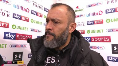 Nuno rues lack of focus