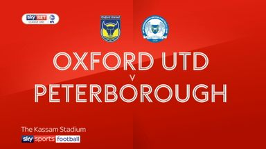 Oxford 2-1 Peterborough