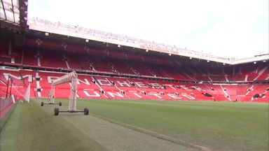 Old Trafford prepares for derby