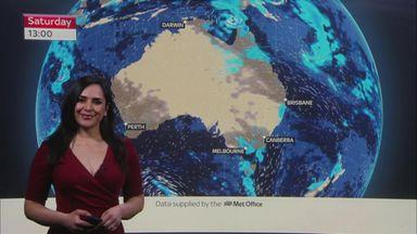 F1 Weekend Weather: Australian GP