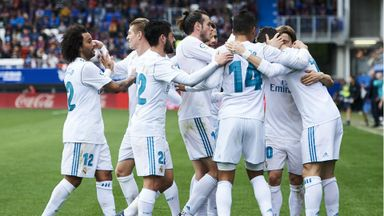 Eibar 1-2 Real Madrid