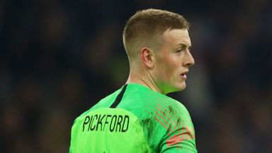 Big Sam: Pickford ready for England No.1