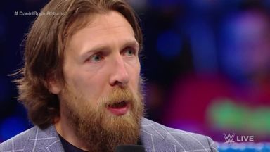 Bryan thanks the WWE Universe