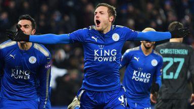 Hughton praises 'improved' Vardy