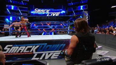 Nakamura defeats Rusev
