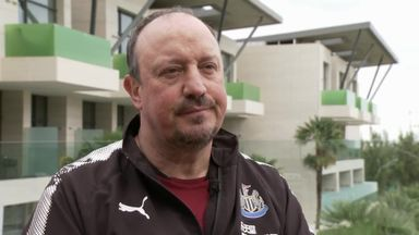 Benitez: 40 points will secure safety