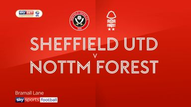 Sheffield United 0-0 Nott'm Forest