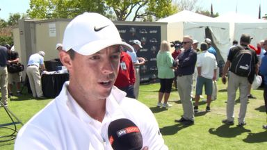 McIlroy happy with schedule